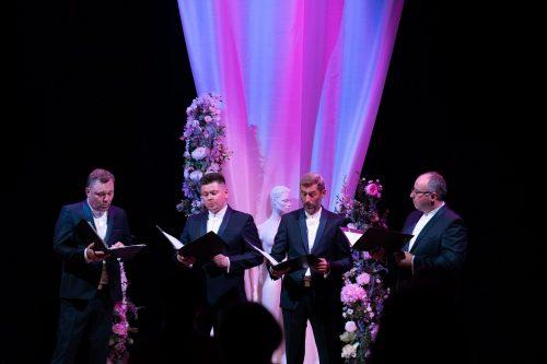 Quorum – vyrų vokalinio ansamblio koncertas Kelmės kultūros centre